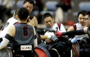 三井不動産第19回ウィルチェアーラグビー日本選手権大会