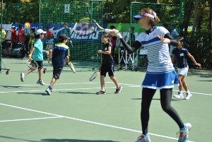 「テニスの日」有明メインイベント