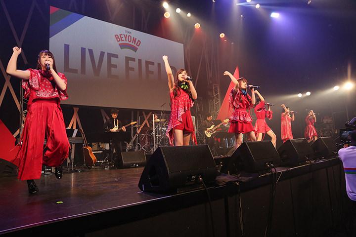 「TEAM BEYOND LIVE FIELD 2017」で、2,000人が音楽とパラスポーツの融合を体感!