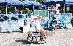 車椅子ソフトボール大会in東京