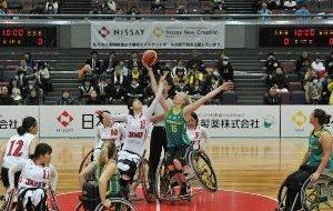 2018国際親善女子車いすバスケットボール大阪大会 大阪カップの画像