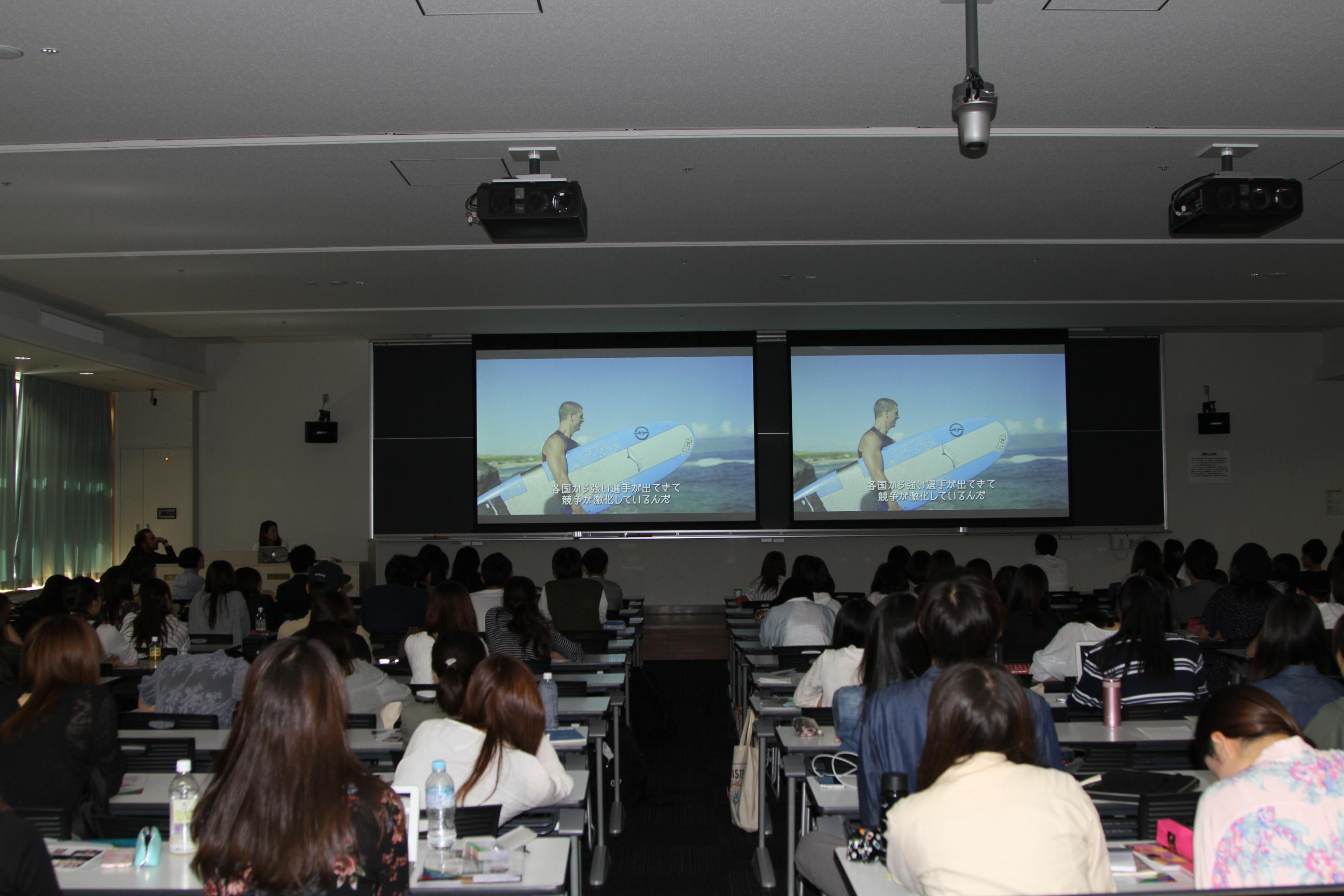 TEAM BEYOND×WOWOW 「PARA-SPORTS ACADEMY」青山学院大学で実施