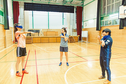 【前編】パラスポgirlに会いたい!「はる&メイちゃんがブラインドサッカー界のスターを直撃!」