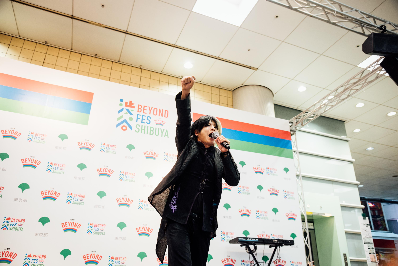 「BEYOND AWARD 2017音楽部門」の受賞候補アーティストが集合!渋谷からパラスポーツの魅力を伝えよう