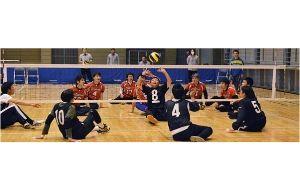 第21回日本シッティングバレーボール選手権大会の画像
