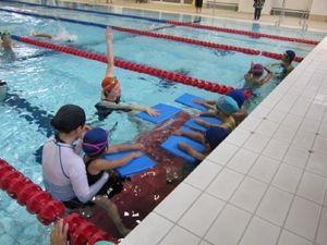 世界へ飛び出せ!障がい者水泳タレント発掘イベント