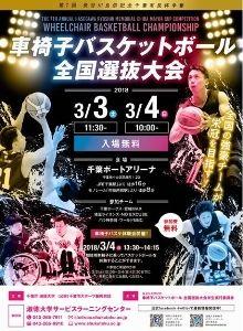 第7回 長谷川良信記念・千葉市長杯争奪 車椅子バスケットボール全国選抜大会