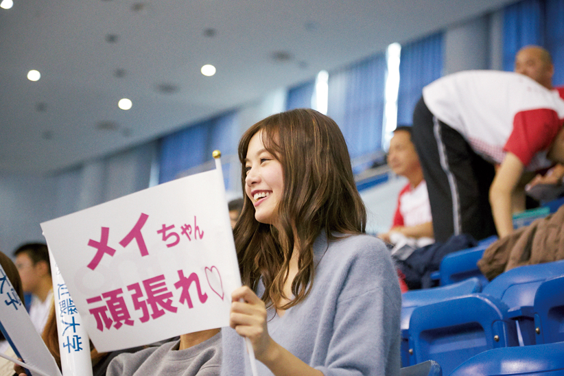 【後編】パラスポgirlに会いたい!「一ノ瀬メイさんの日本選手権を応援!」