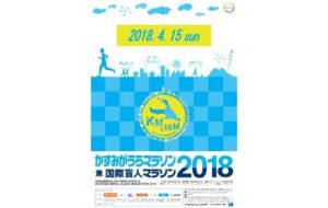 かすみがうらマラソン兼国際盲人マラソン2018の画像