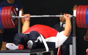 【パラ・パワーリフティング】パラリンピック金メダリスト、シアマンド・ラーマン選手の驚愕のパワーの画像