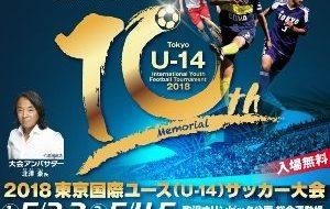2018東京国際ユース(U-14)サッカー大会の画像