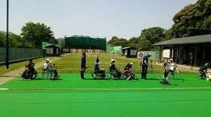 第40回 中・四国身体障害者アーチェリー競技大会の画像