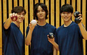 メンズノンノモデル3名が参戦、「ボッチャ部」始めました!の画像