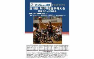 ネッツトヨタ湘南PRESENTS 第18回HIGH8選手権大会 関東ブロック予選会の画像