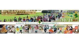 第47回タートルマラソン国際大会 第21回バリアフリータートルマラソン大会 in 足立の画像