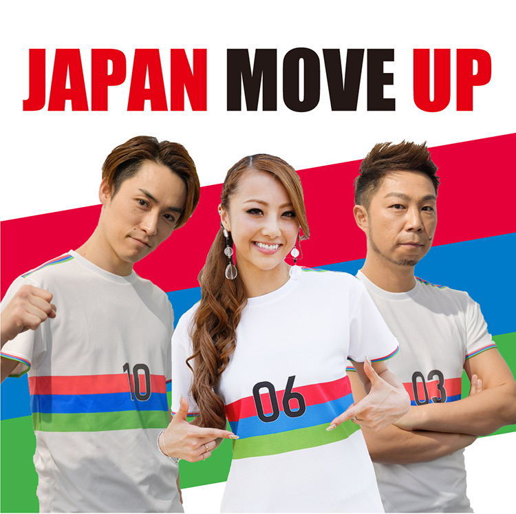 JAPAN MOVE UP