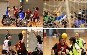 文部科学大臣杯第16回日本車椅子ハンドボール競技大会の画像