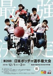 第20回日本ボッチャ選手権大会本大会
