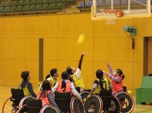 チャレンジ!車椅子バスケットボール