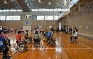 パラスポーツ体験教室 特別編 車いすバスケの画像