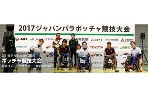 天皇陛下御在位三十年記念 2019ジャパンパラボッチャ競技大会の画像