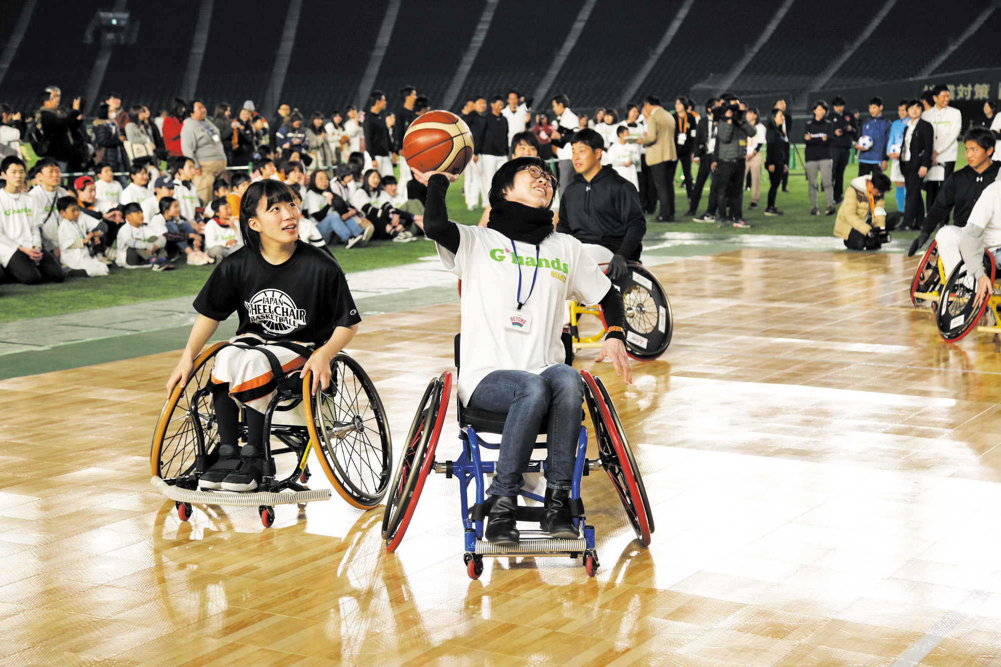 魅力 たくさん パラスポーツって楽しい!「G-handsデー」レポート