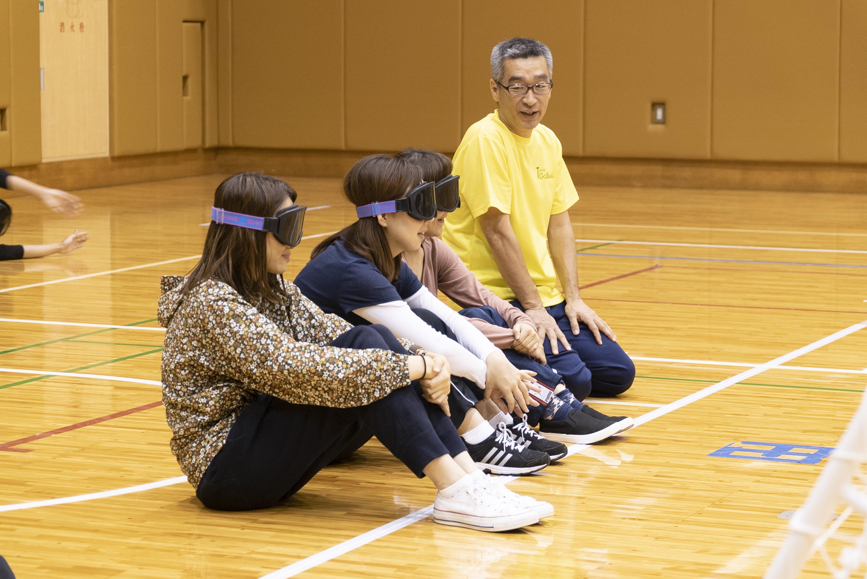 """ゴールボールを""""体験""""する【後編】"""