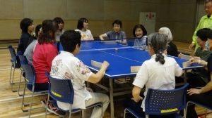 ユニバーサルスポーツ体験教室 いろいろ卓球(4月)の画像