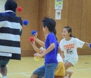 パラスポーツ体験教室 ペガーボール