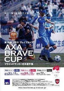第18回 アクサ ブレイブカップ ブラインドサッカー日本選手権(予選ラウンド1)
