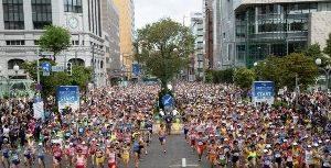 北海道マラソン2019兼東京2020パラリンピック視覚障がいマラソン代表推薦選手選考 大会の画像