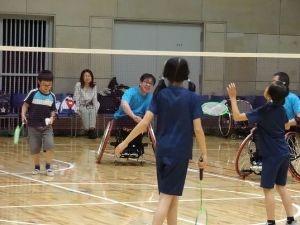 パラスポーツ体験教室(7月)~バドミントン~