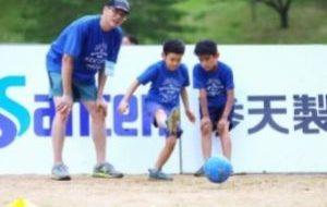 参天製薬 ブラサカキッズキャンプ2019 in 関西の画像