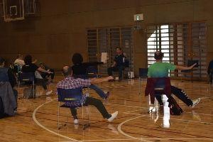 ユニバーサルスポーツ体験教室(8月) ~お楽しみ健康体操~