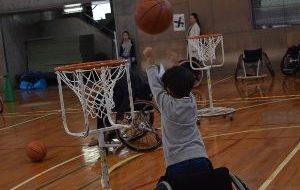 パラスポーツ体験会 in オープンキャンパスの画像