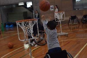 パラスポーツ体験会 in オープンキャンパス