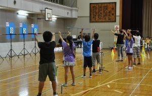 パラスポーツ体験教室(9月) ~スポーツウエルネス吹矢~の画像
