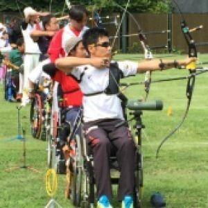 文部科学大臣杯争奪 第48回全国身体障害者アーチェリー選手権大会 フェニックス岩手大会