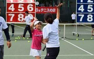 「テニスの日」有明メインイベントの画像