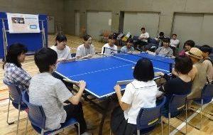 パラスポーツ体験教室(11月)~いろいろ卓球~の画像