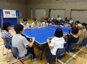 パラスポーツ体験教室(11月)~いろいろ卓球~