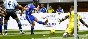 ブラインドサッカー チャレンジカップ2019の画像