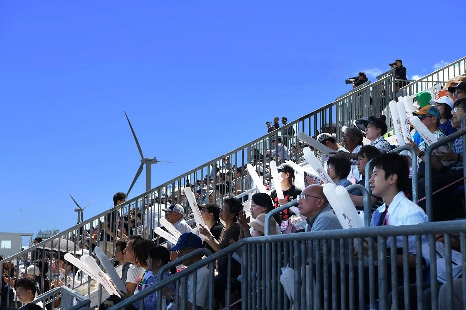 首都圏で唯一の国際水準の競技コースで、「海の森水上競技場」完成記念レガッタが開催。