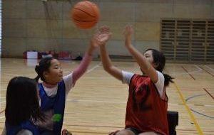 パラスポーツ体験教室(12月)~車いすバスケットボール~の画像