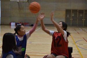 パラスポーツ体験教室(12月)~車いすバスケットボール~