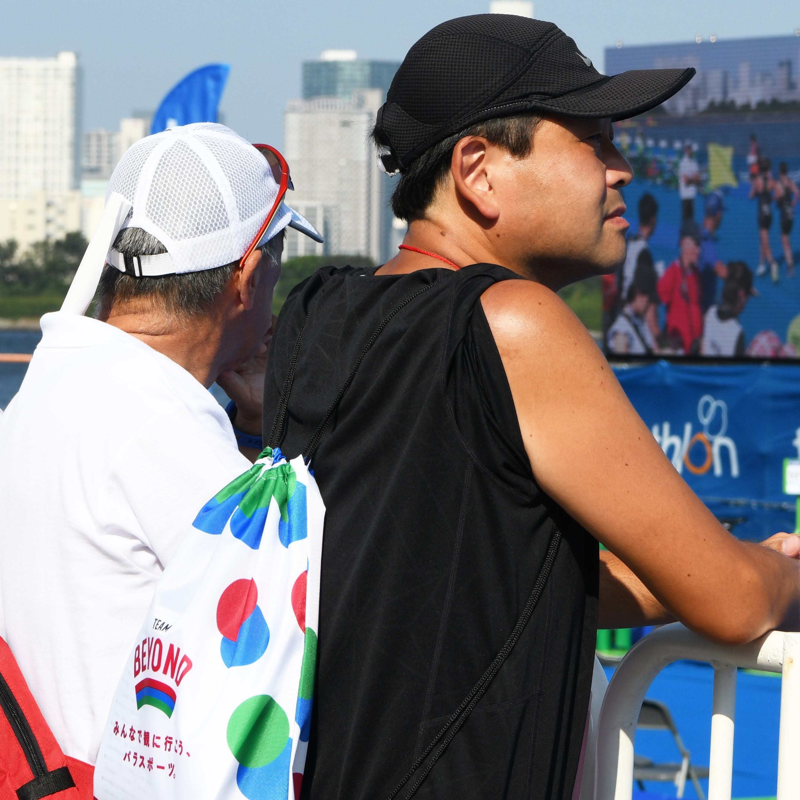 お台場海浜公園にて「ITUパラトライアスロンワールドカップ2019/東京」が開催。TEAM BEYONDではメンバー向けの観戦会を実施!