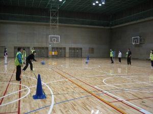 パラスポーツ体験教室(2月)~ゴールボール~