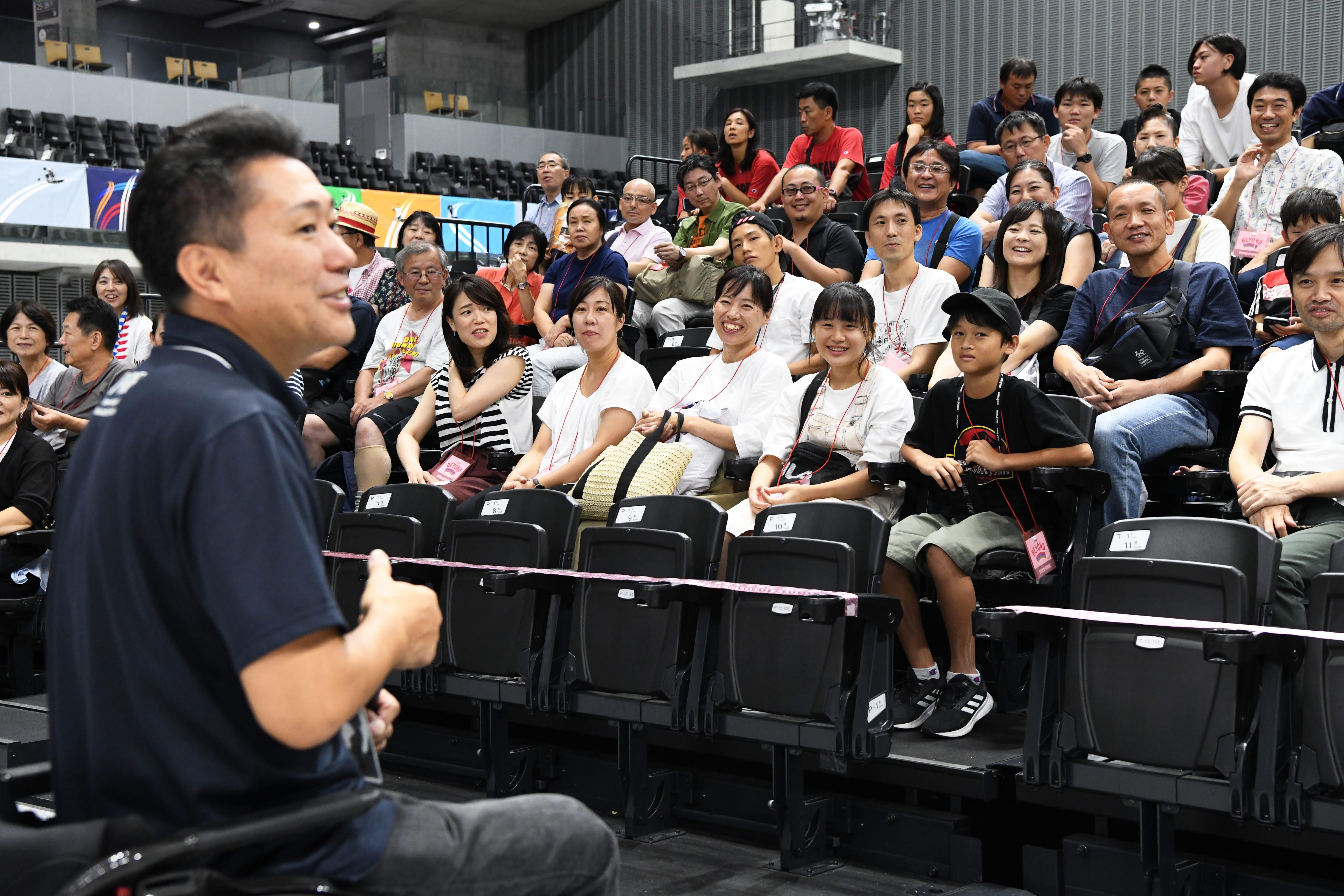 満席の会場で熱いエール!車いすバスケットボール「三菱電機 WORLD CHALLENGE CUP 2019」
