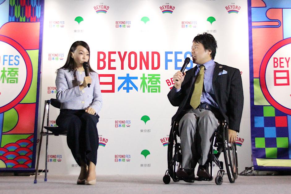 千葉真子さん、鶴岡弘之さん、宇城元選手によるトークショー