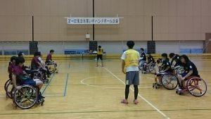 第18回東日本車いすハンドボール大会<font color=red><中止となりました></font>の画像
